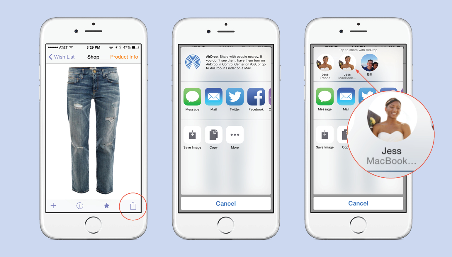 How To Airdrop Howto Tips €� Page 3 €� Stylebook Tips