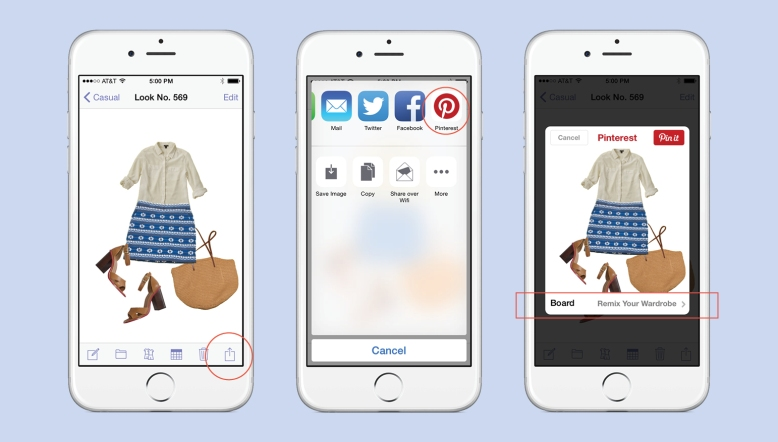 How To Pin To Pinterest From Stylebook