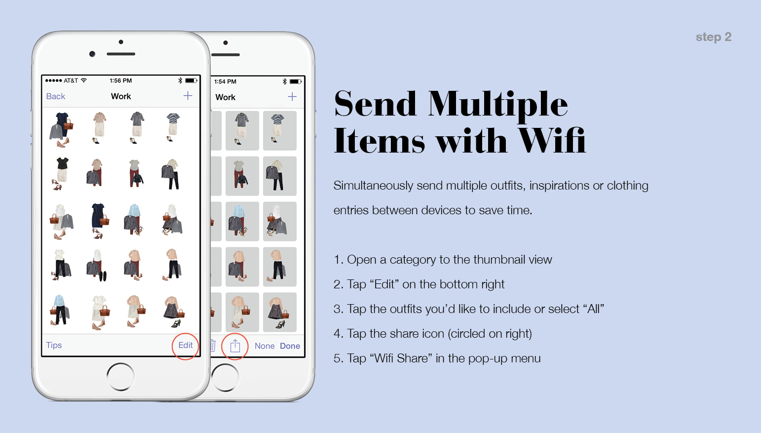Share Between iPhone and iPad – Stylebook Tips