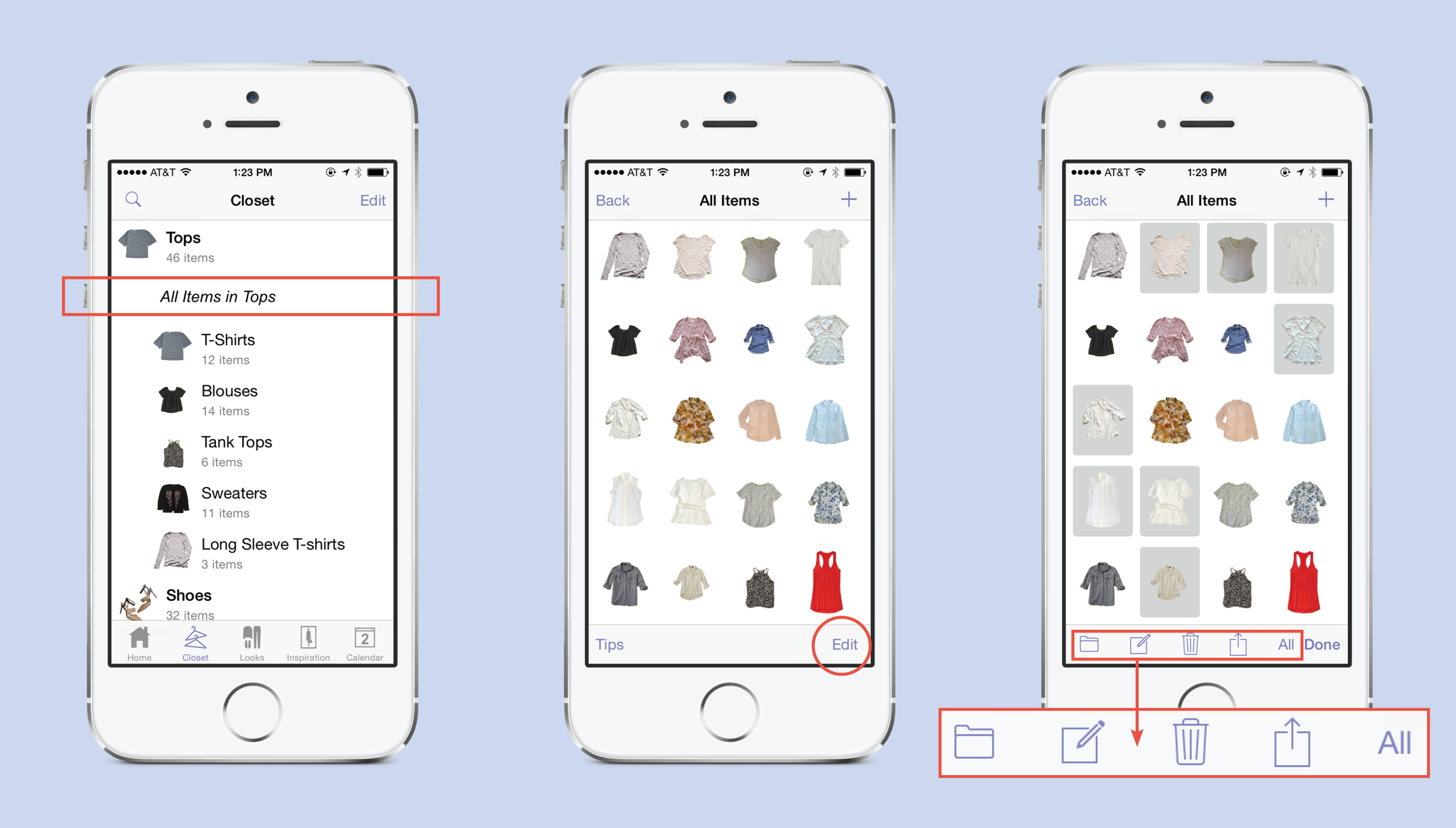 Multi- Select and Bulk Actions – Stylebook Tips