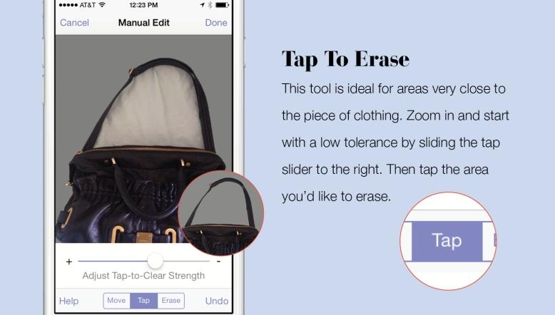 Eraser Tool In Stylebook