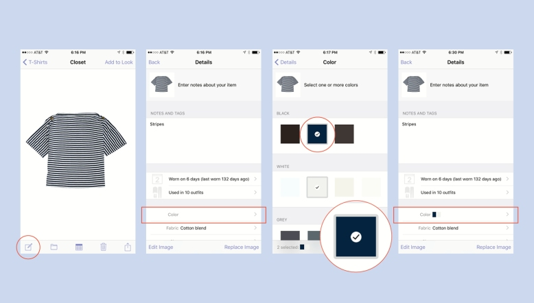 How to Select Multiple Colors in Stylebook