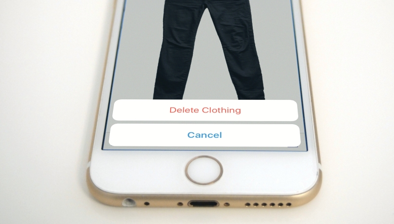 deleting clothing from Stylebook